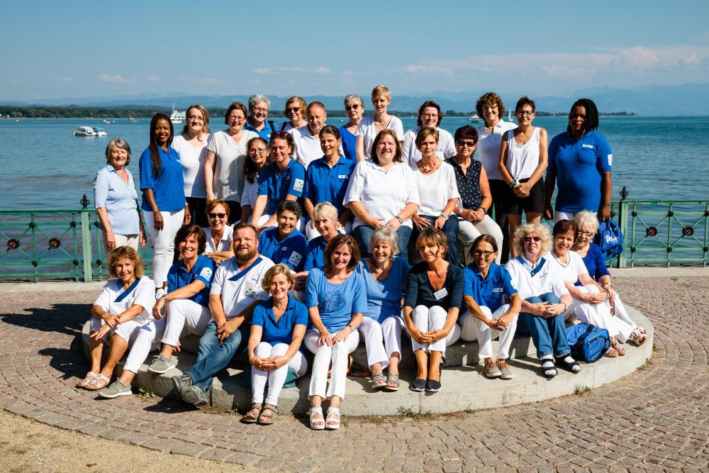 Das gesamte Team der Kath. Sozialstation in Friedrichshafen